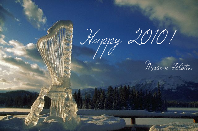 Happy 2010 from Miriam Tikotin!